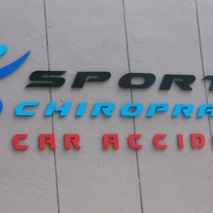 sports chiropractic logo